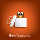 Thanksgiving card vector design with traditional Royalty Free Stock Photo