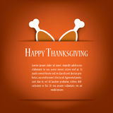 Thanksgiving card vector illustration design with Royalty Free Stock Photos