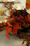 Thanksgiving centerpiece Royalty Free Stock Photography