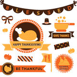Thanksgiving Clipart Royalty Free Stock Photos