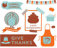 Thanksgiving Clipart Stock Photos