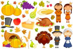 Thanksgiving Collection Stock Image