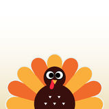 Thanksgiving colorful Turkey Royalty Free Stock Photos