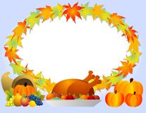 Thanksgiving Cornucopia Royalty Free Stock Image