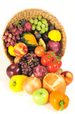 Thanksgiving cornucopia Stock Photos