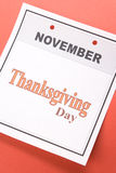 Thanksgiving day Royalty-vrije Stock Afbeelding