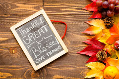 Thanksgiving day, autumn leaves background royalty free stock image