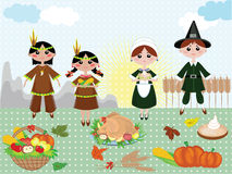 Thanksgiving day ,background Royalty Free Stock Photo