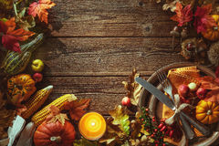 Thanksgiving day background Stock Photography