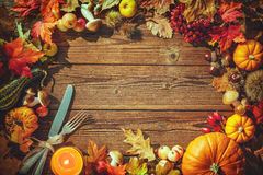 Thanksgiving day background Royalty Free Stock Photos