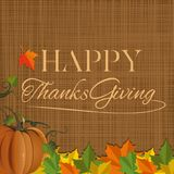 Thanksgiving Day background design. Happy Thanksgiving. Vector illustration Royalty Free Stock Photos
