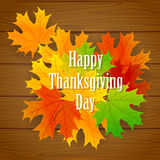 Thanksgiving day background Stock Images