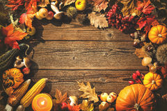 Thanksgiving day background Stock Photos