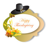 Thanksgiving day banner Royalty Free Stock Photo