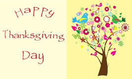 Thanksgiving day card Royalty Free Stock Photo