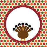 Thanksgiving day card Stock Image