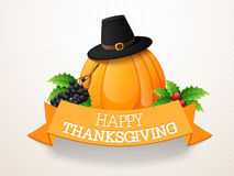 Thanksgiving Day celebration with fruits and vegetables. Stock Image