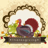 Thanksgiving Day celebration poster. Royalty Free Stock Image