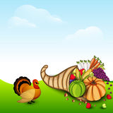 Thanksgiving day celebration. Royalty Free Stock Images