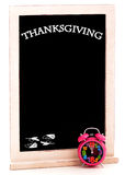 Thanksgiving Day Chalkboard Royalty Free Stock Photos