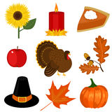 Thanksgiving day clip-art Stock Photography
