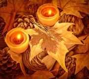 Thanksgiving day decoration Royalty Free Stock Images