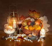 Thanksgiving Day Decoration stock photos