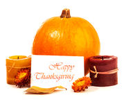 Thanksgiving day decoration Stock Images