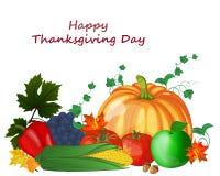 Thanksgiving Day Design Royalty Free Stock Photo