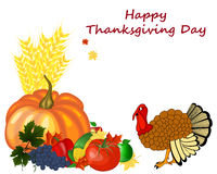 Thanksgiving Day Design Royalty Free Stock Photography