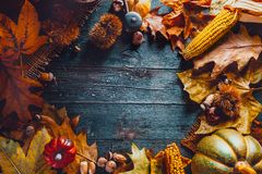 Thanksgiving day dinner stock images