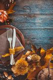 Thanksgiving day dinner Royalty Free Stock Photography