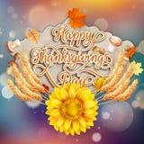 Thanksgiving Day. EPS 10 Stock Photos