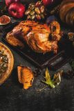Thanksgiving Day food Royalty Free Stock Image