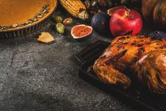 Thanksgiving Day food Stock Images