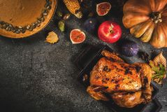 Thanksgiving Day food Stock Photography