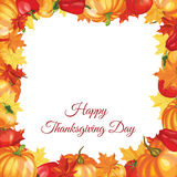 Thanksgiving Day Greeting Card Stock Images