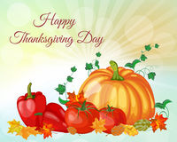 Thanksgiving Day Greeting Card Royalty Free Stock Images