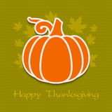 Thanksgiving day greeting card eps10 Stock Images
