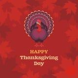 Thanksgiving day greeting Stock Photos