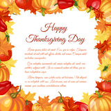 Thanksgiving Day Greeting Card Stock Photo