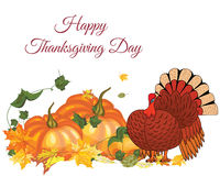 Thanksgiving Day Greeting Card Royalty Free Stock Photo