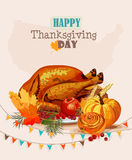Thanksgiving day. Royalty Free Stock Photography