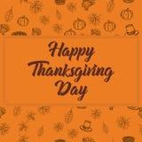 Thanksgiving day greeting card . Vector illustration vector illustration
