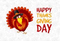 Thanksgiving day greeting Royalty Free Stock Photos