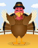 Thanksgiving Day - Happy Turkey Smiling Stock Photography