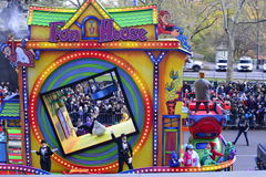 Thanksgiving Day Parade 2016 - New York City. Floats, costumes, and more of the Thanksgiving Day parade along Central Park in New York City Stock Images