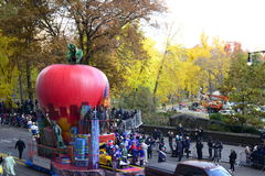 Thanksgiving Day Parade 2016 - New York City. Floats, costumes, and more of the Thanksgiving Day parade along Central Park in New York City Royalty Free Stock Photography