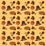Thanksgiving day wallpaper pattern Royalty Free Stock Images