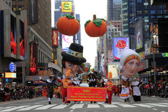 Thanksgiving day Prade van Macy royalty-vrije stock foto's